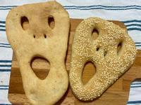 【萬聖節麵包】面具麵包