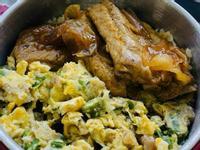 (保溫便當)菜圃秋葵炒蛋&洋蔥韓式豬肋排