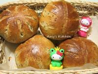 早餐-香蕉芝麻麵包