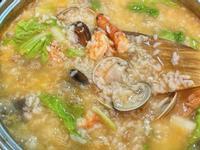 暖胃蝦頭海產粥