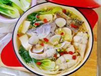 味噌白菜鮮魚鍋