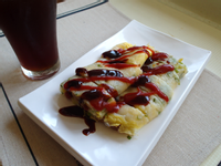 【早午餐】古早味燒肉蛋餅