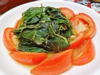 簡單健康料理~番茄地瓜葉~低卡減重減脂餐