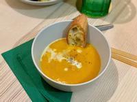 奶香薑黃南瓜濃湯(植物五辛素)