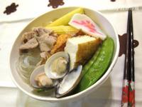 清爽低脂油豆腐寬粉絲鍋