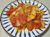 洋蔥蕃茄炒嫩蛋