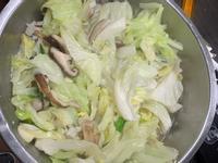 清炒香菇高麗菜