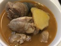 茶油(麻油)雞腿湯