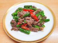 青龍辣椒炒牛肉