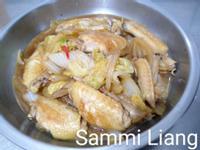 雞翅燒白菜