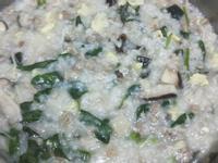 皮蛋瘦肉菇菇粥