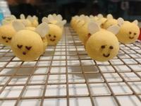 🐝蜜蜂造型餅乾(杏仁曲奇)