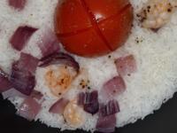 番茄虾炖饭