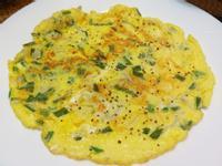 簡單健康高蛋白料理~吻仔魚蔥蛋~減脂好友