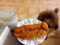 【日常快速早餐】全聯阪急麵包&黑芝麻豆漿