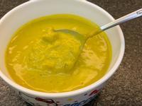 南瓜牛奶蟹肉濃湯