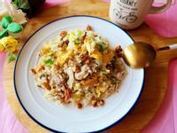 堅果鯖魚花椰菜米飯(低碳飲食)