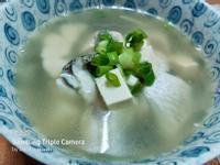 青蒜鮮魚豆腐湯