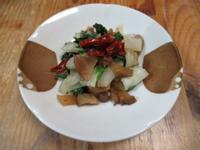 日式燻醃蘿蔔奶白菜