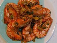 蒜片椒鹽蝦
