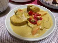 椰汁咖哩燉雞
