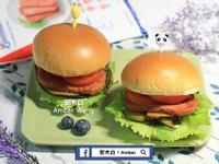 南瓜餐肉漢堡