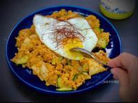 低醣起司韓式泡菜炒飯(蛋奶素)