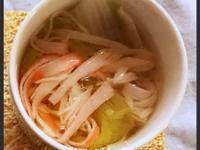蟹肉風味蔬菜湯