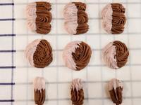 維也納巧克力酥餅 | 巧克力擠花餅乾