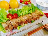 蒜香豬五花(氣炸烤箱)