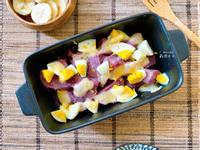 烤箱料理|起士紫薯蛋