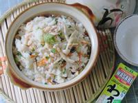 山葵鮭魚炊飯