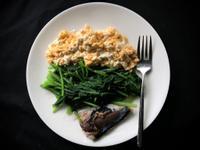 [減脂餐]鯖魚/菠菜/雞蛋豆腐
