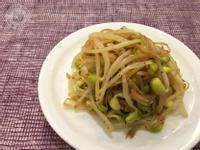 日式芥末黃豆芽