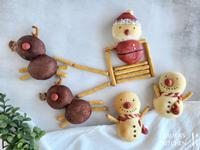 聖誕造型栗子麵包