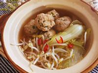 韭菜肉丸鍋 (露營OK)