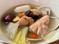 媽媽寶寶湯-蛤蜊山藥雞肉湯