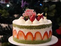 聖誕草莓慕絲蛋糕