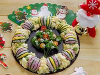 櫛瓜聖誕沙拉