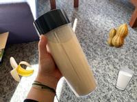 花生香蕉高蛋白蛋白奶昔(杏仁奶