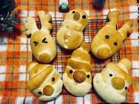 聖誕造型麵包