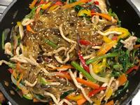 超簡單韓式雜菜(잡채)