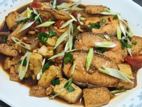 lanni 紅燒鮭魚豆腐