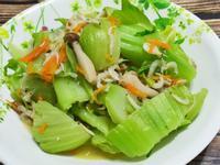 lanni 蝦米清燜芥菜梗