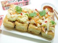 蒜泥爽脆泡菜&香酥豆腐