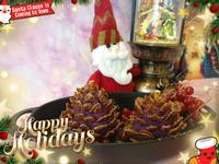 聖誕松果蕃薯 / 聖誕松果地瓜