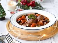 [蔬食]法式紅酒燉肉丸