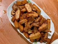 簡易版沙茶豬肉炒豆乾
