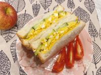 山葵蛋沙拉三明治