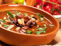 冬天暖胃湯品,辣醬蒸豆湯